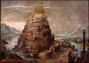Turnul Babel simbol pentru Babilonul spiritual modern