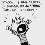 Nu vreau la scoala
