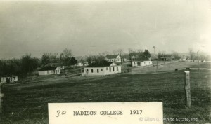Madison School in 1917, the self-support principle at work