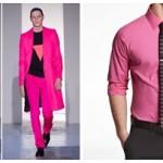 culoarea roz la barbati