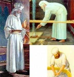 imbracamintea preotilor in Vechiul Testament