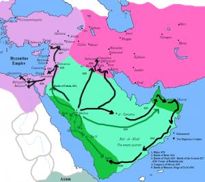 Primele cuceriri musulmane