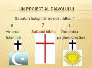 Sabatul rastignit intre talhari - vinerea musulmana si duminica pagano-catolica
