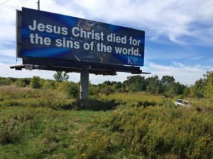 publicitate creștină