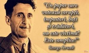 Orwell despre alegeri. Creștinul și politica.