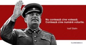 Stalin despre politică și vot