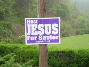 votează cu Iisus